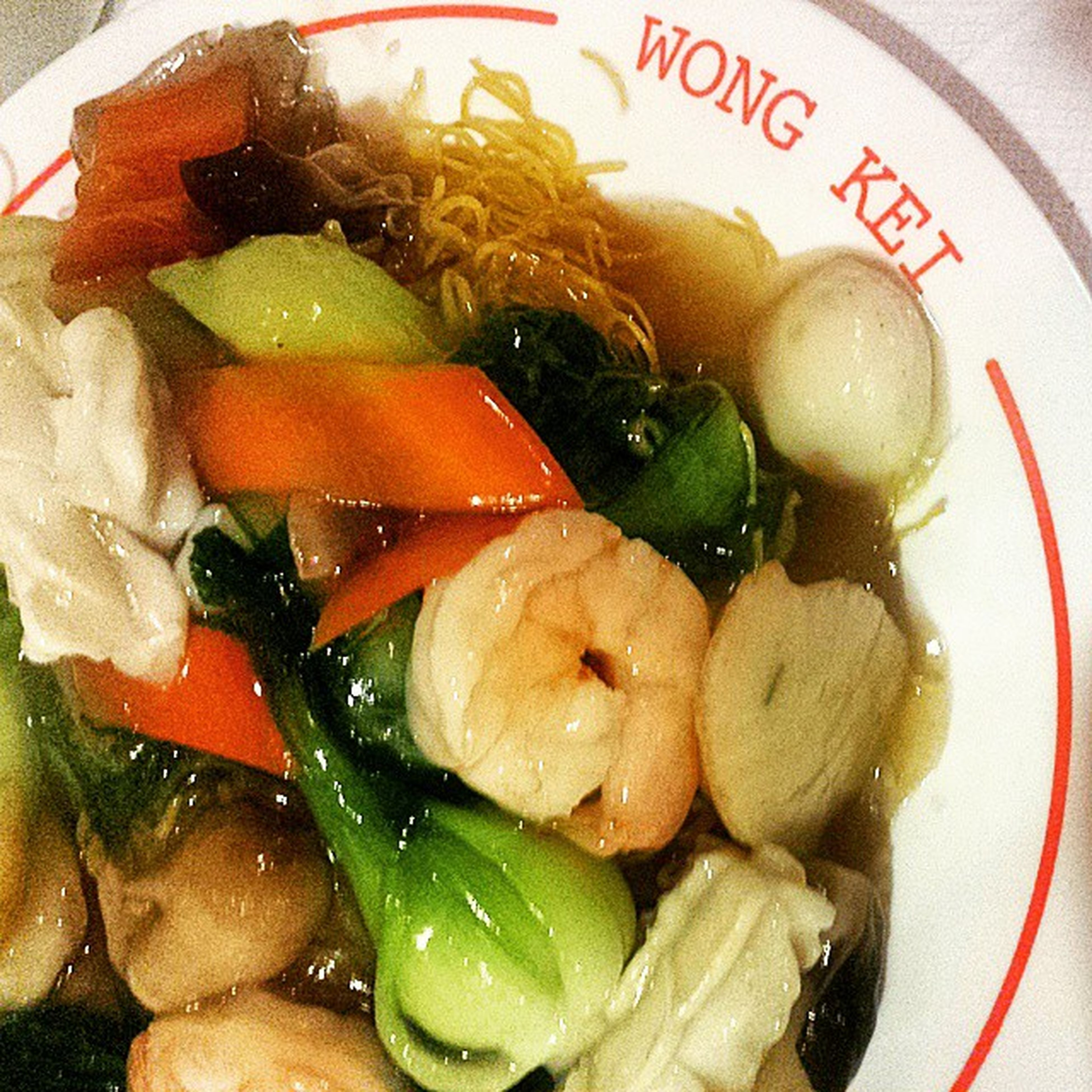 DAY 7 OF LENT | DINNER | MixedSeafoodFriedNoodle WongKei Lent Nomeat NoBread NoRice HealthyLiving IsThisHealthy LyingToMyself
