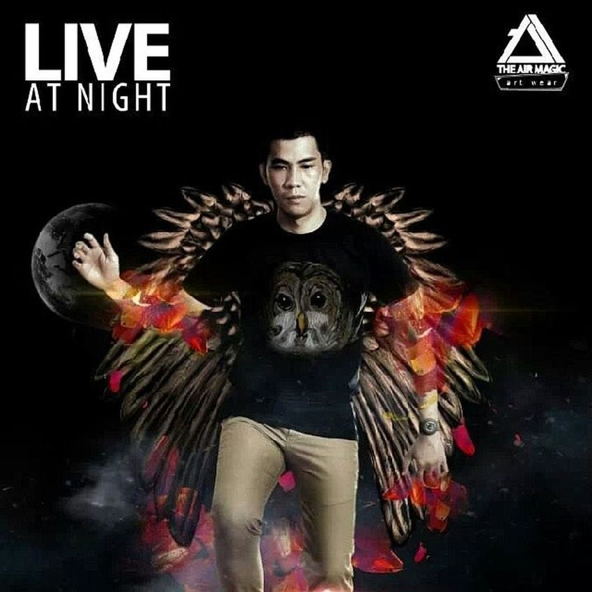 """""""Live at night"""" Theairmagic That's Me I Love This Brand Photoshoptouch"""