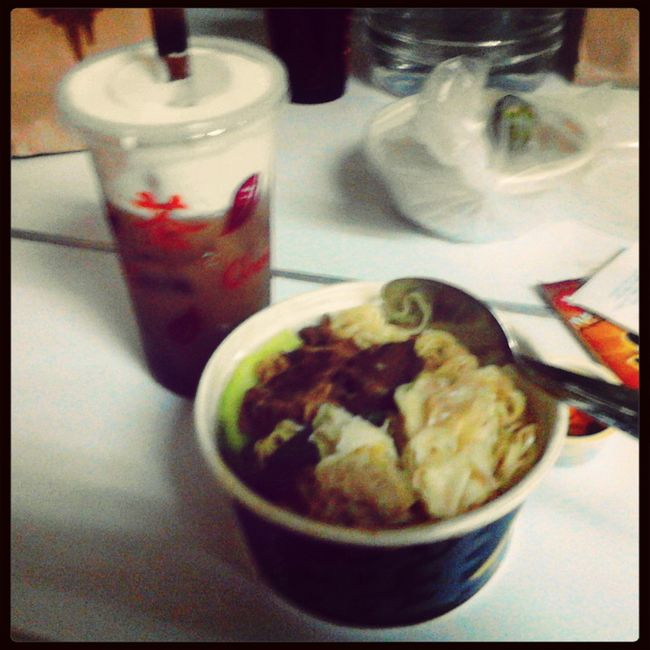 Noodles Milk Tea Chinese Food Feeling Sick