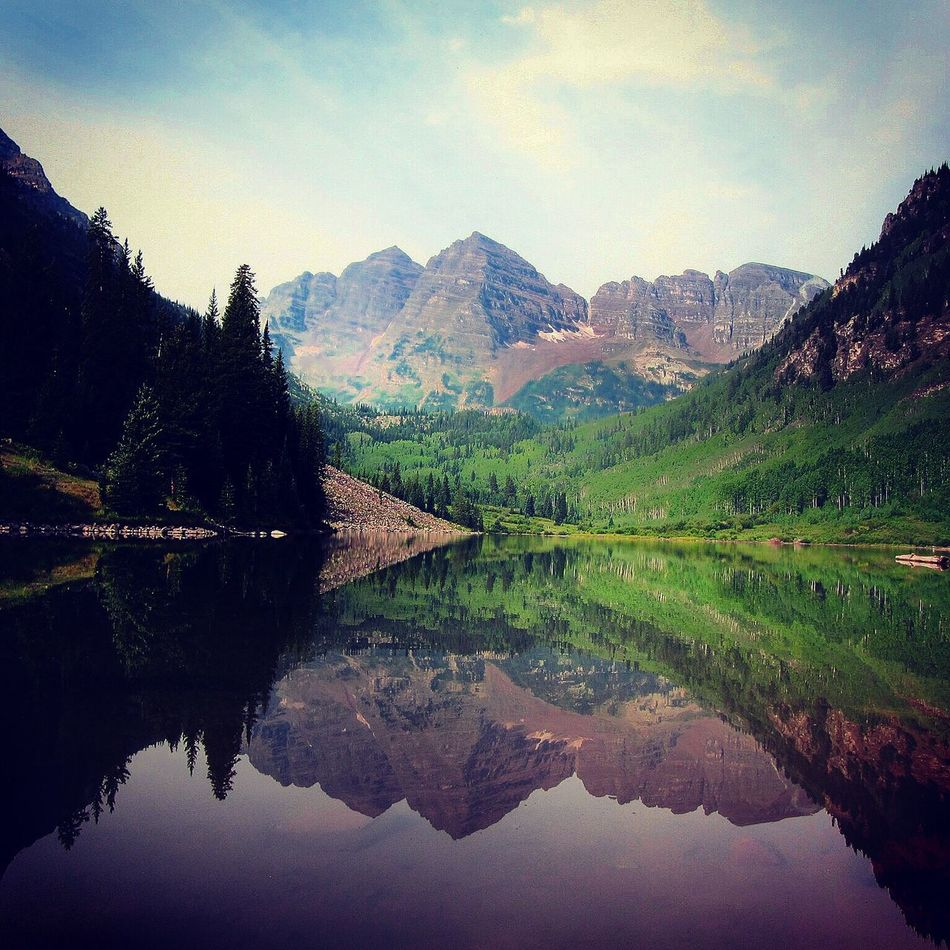 The Great Outdoors - 2016 EyeEm Awards Water Reflections @ Maroon Bells Maroonbells Water Reflections Landscape_Collection Landscape Outdoors Outdoor Photography USA Canon USAtrip Mountains Sky Check This Out Taking Photos Enjoying Life Nature Nature Photography Nature_collection Lake Lake View Eyeemphoto