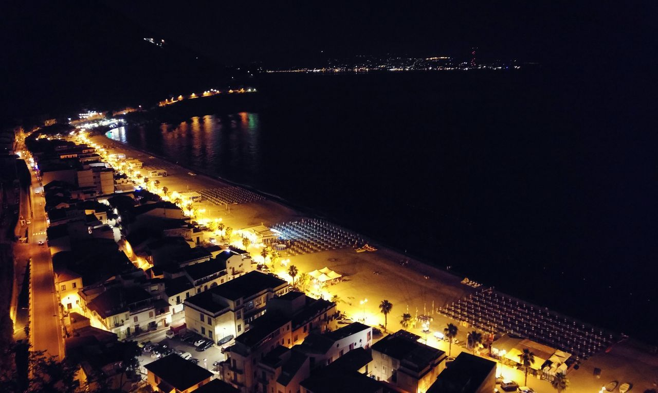 Scilla Beach Bynight OverviewPoint Straitofmessina Beauty