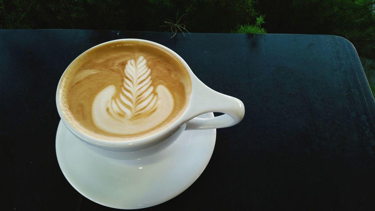 Coffee Latte Coffee ☕ Coffeetime Evening Coffee Local Coffee Shop  Coffee At Home