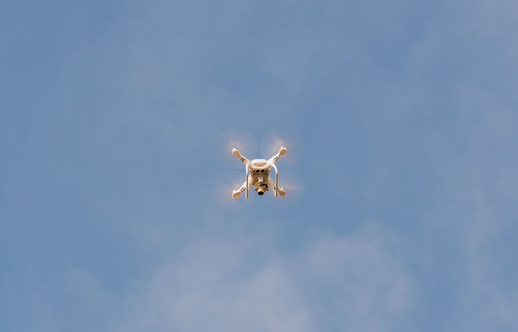 Drone is controlled and fly in the air Drone  Fly Landing Noise Quadcopter Remote Control Aerial Aerial View Aircraft Aircraft Noise Approval Aviation Buoyancy Concept Departure Driver License Drones Regulation Flight Inspection Mandatory Marking Propeller Rotors Video Drone Visibility
