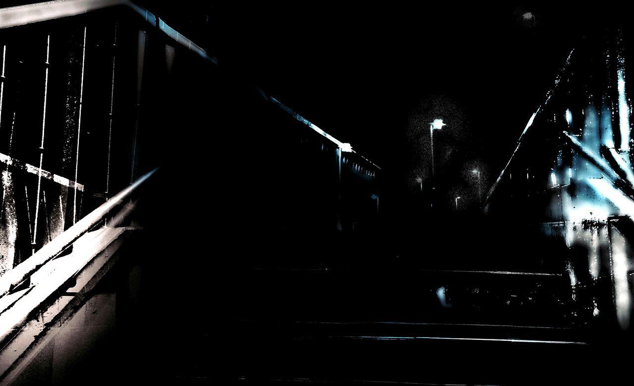 night, indoors, illuminated, no people