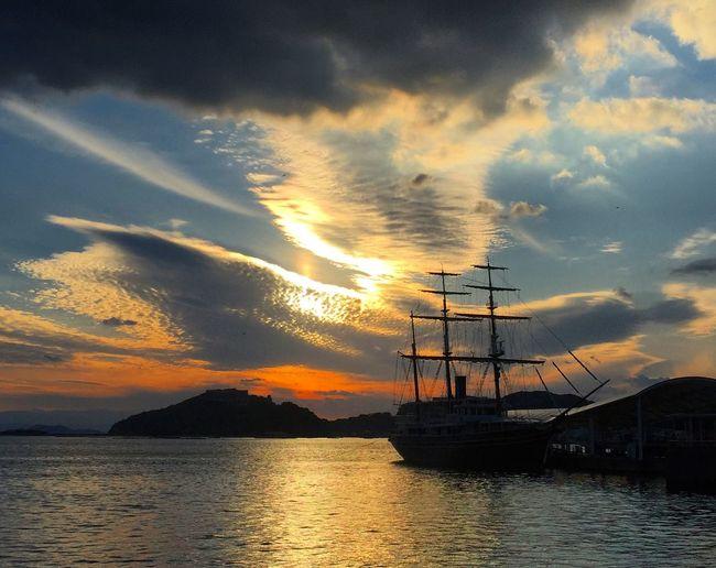 Awaji*Japan Autumn Fall Awaji Awajishima Japan Sunset Sunset_collection