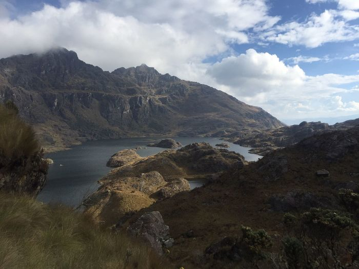 Huanuco Peru Vida Mountain Sky Nature Landscape Beauty In Nature Outdoors Scenery Water No People Day