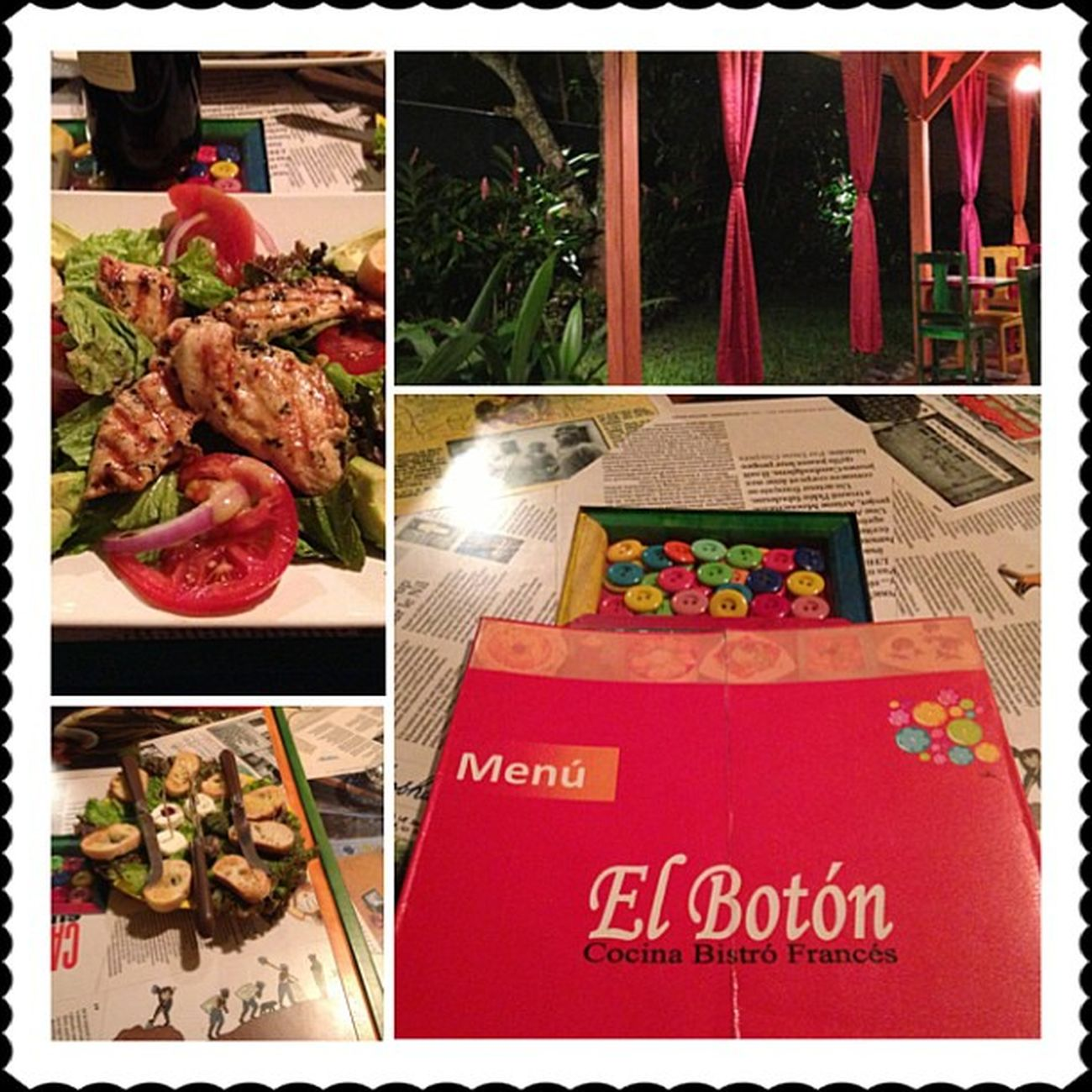 Dinner with the team. Amazing food at El Botón. WorkLife Elboton