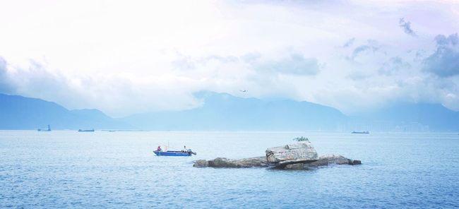 Sea Sea And Sky Seaside HongKong Tuenmun 2016 Golden Coast Beach