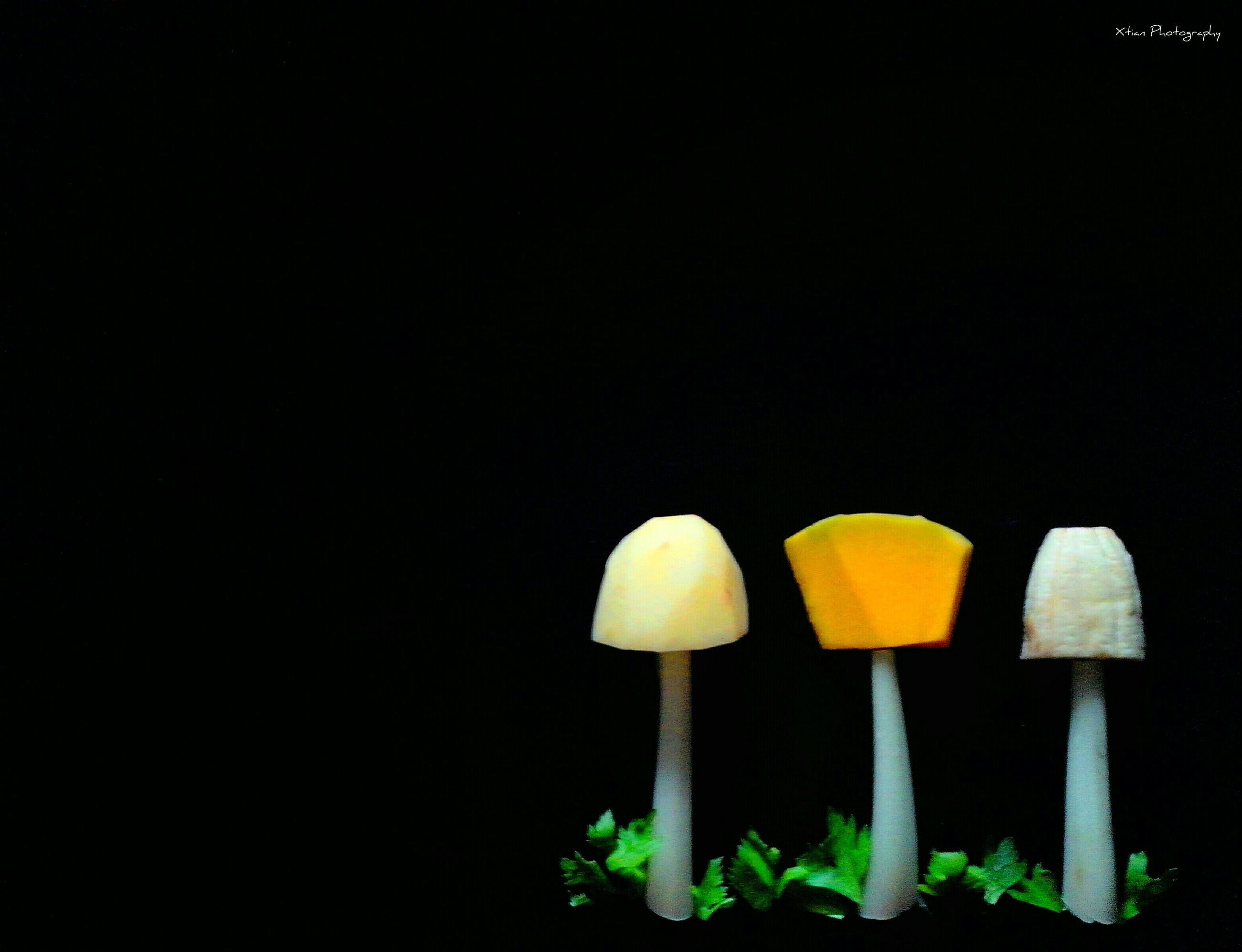 copy space, yellow, black background, studio shot, night, still life, illuminated, close-up, no people, lighting equipment, dark, clear sky, single object, wall - building feature, outdoors, shadow, table, nature, light - natural phenomenon