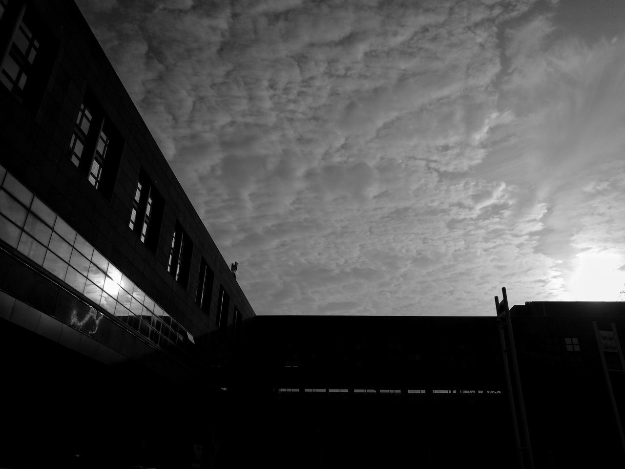Blackandwhite Architecture Built Structure Low Angle View Outdoors Sky Fuji Fujifilm_xseries Fujixe2 Fujilove Fujilovers Fujifilm_series FujiXF35 Built Structure Built Structure building exterior Cloud - Sky Outdoors No People Architecture Sky Low Angle View Building Exterior Cloud - Sky Outdoors No People First Eyeem Photo