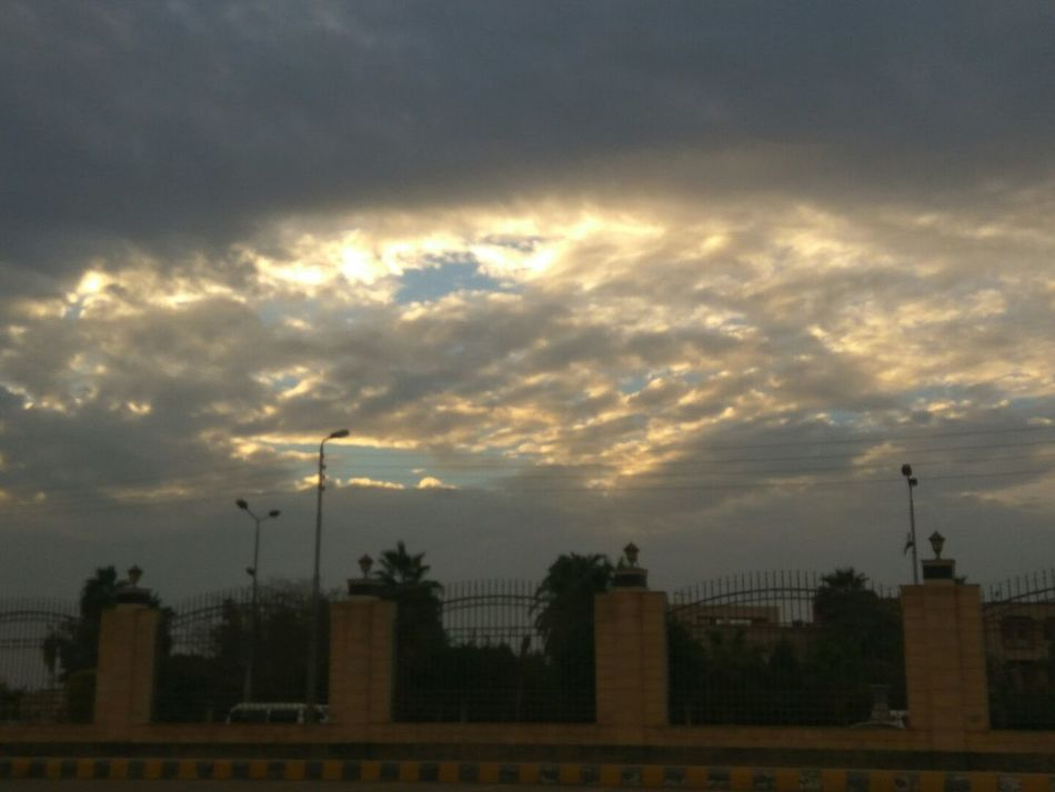 Nice Atmosphere Nice Shot By Me 👆 At5pm Fresh Air Nature Sky Sunset Traveling No Filter No Edit In Kafr Elsheikh