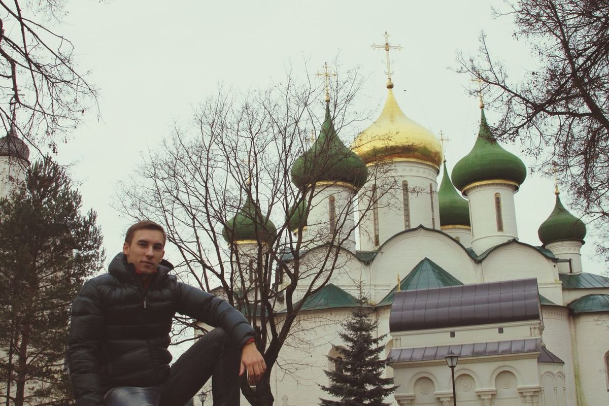That's Me in Suzdal Russia