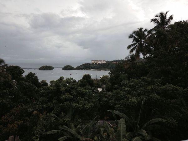 Samaná on a rainy day. Caribbean] caribbean Caribe Dominican Republic
