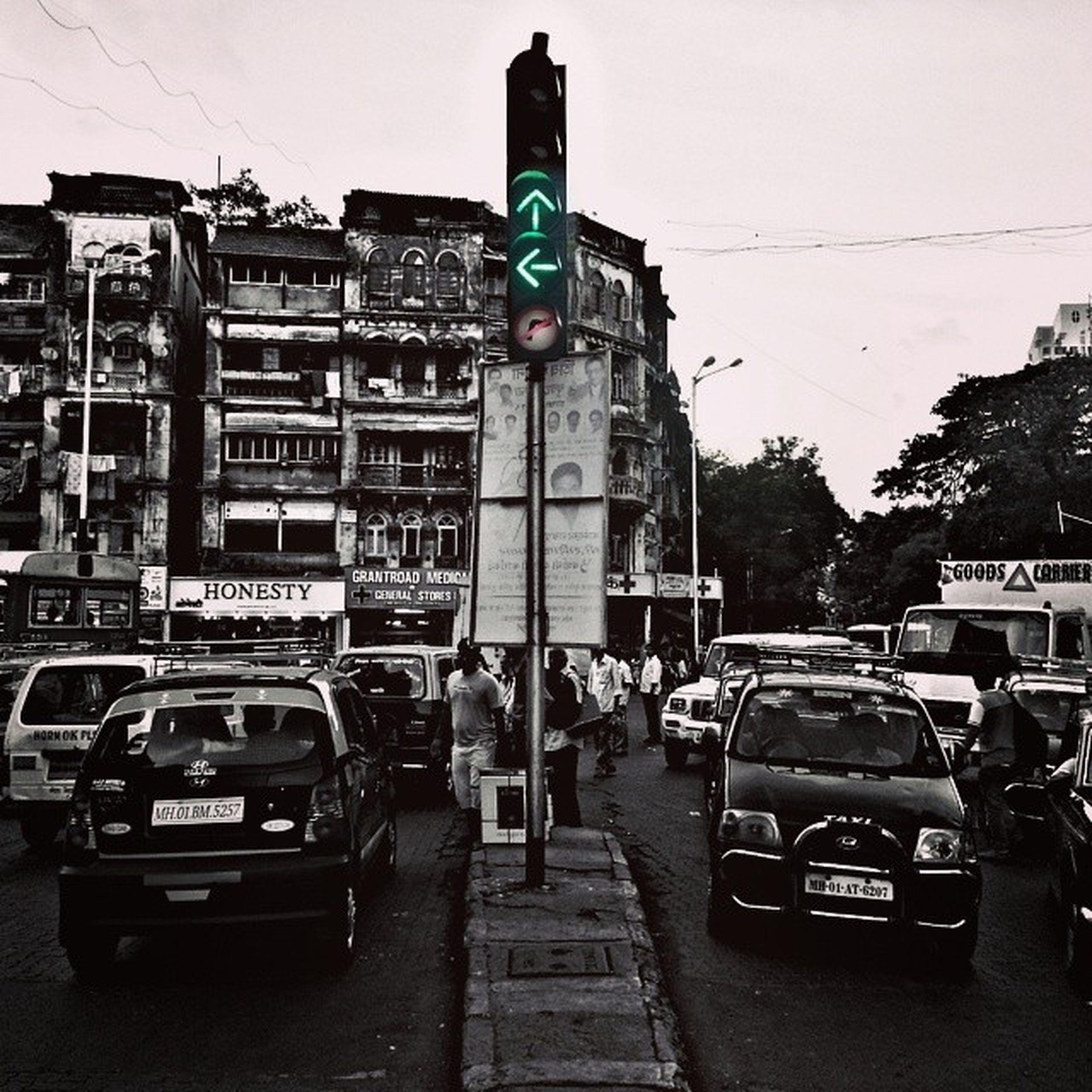Mumbai's traffic...