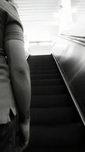Darkness And Light Subway Station Subway Stairs Walking The Stairs Walking Around Streetphoto_bw Mobilephotography Motorolamotog Motorolaphotography
