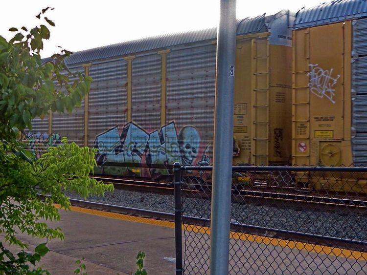ICH Ich Railart Ichabod Graffiti