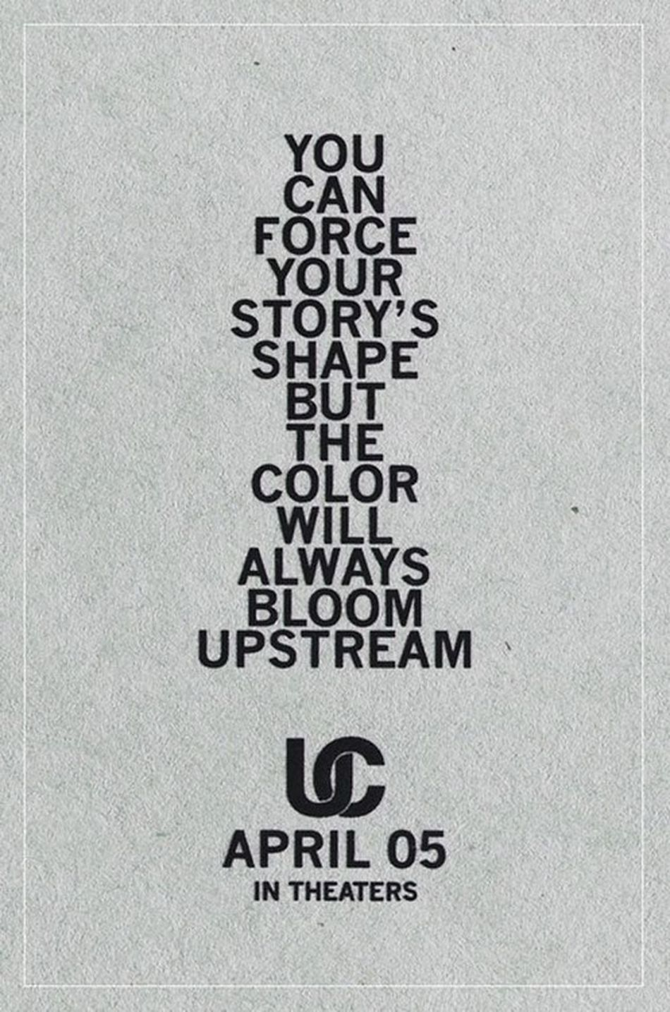 Best MOVIE I've seen in months. Upstream Color.
