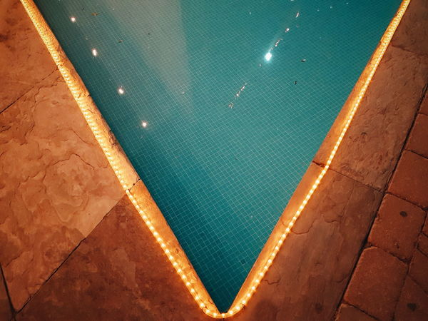 Vwimmingpool Swimming Pool Water Aerial View High Angle View Sea Beach Backgrounds Vacations Summer Outdoors Day Travel Destinations No People Kuwaitstreetphotography Tennis Nature Close-up k Yoonjeongvin Kuwait AI Now The Graphic City