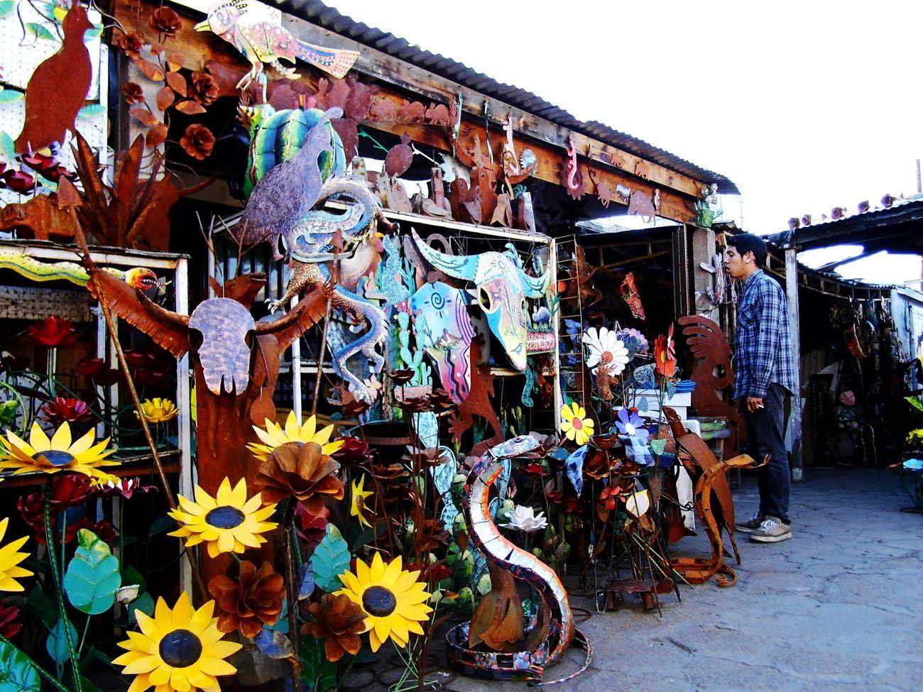 Nogales,Sonora Curios  ArtesaniaSonorense Frontera Sociologia De La Frontera