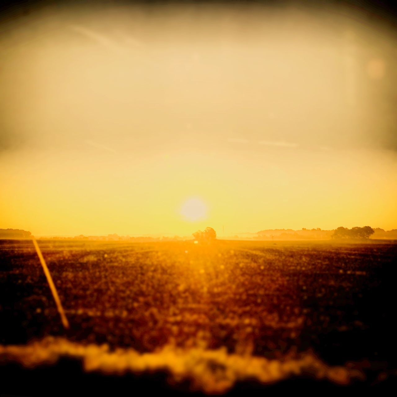 Sun Landscape Sky Orange Color Field Nature Sunset Sunlight Outdoors Beauty In Nature Insta Sonnenaufgang Seht Euch Meine Instaseite SopKlein An Picks Of My Life