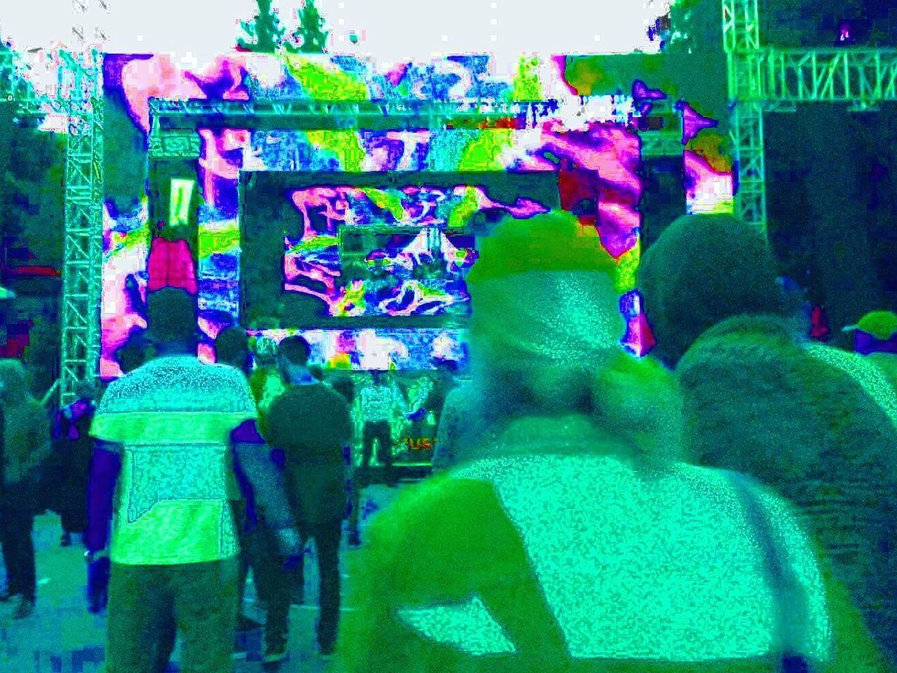 My Favorite Place Enjoy The New Normal Dancing Nature Electronic Music Shots Festival Festival Season Colors Young Adult Spontaneous Moments Close Up Technology