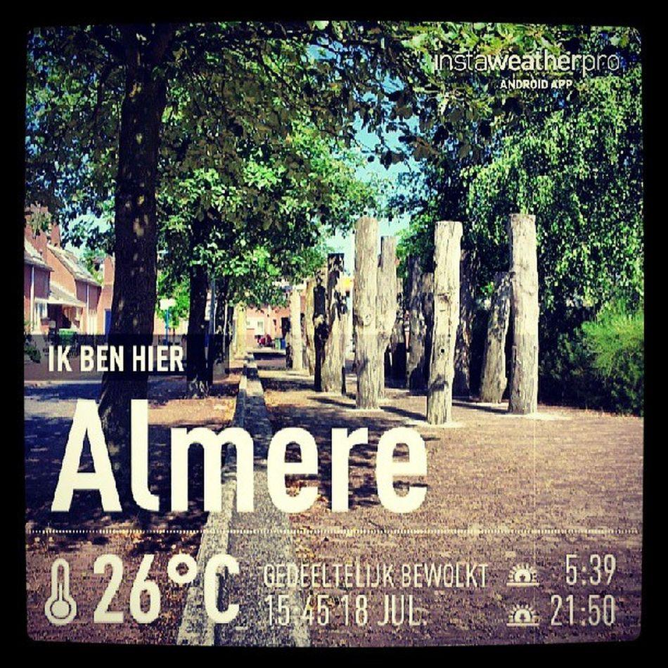 Nog 1,5 week en dan is het Utrecht here we come! Bye bye Almere