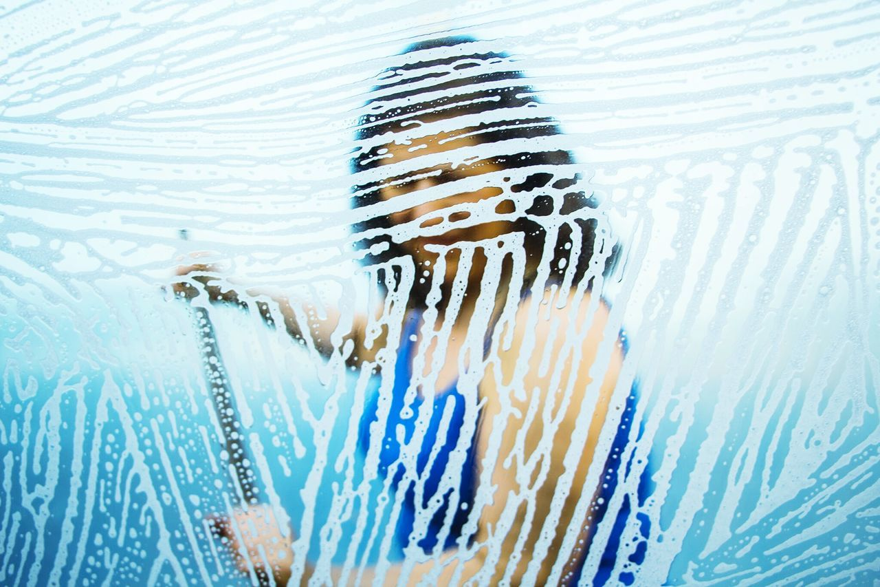 car wash NO.4 Underwater Photography Blue Portrait Car Washing My Car New Perspective Photography Abstract Water Distortion