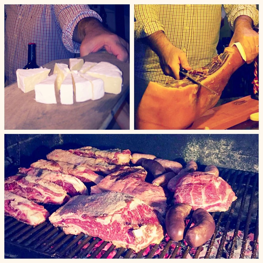 Asado Argentino Friday Night Friday Night Out Pata Negra Brie Red Wine
