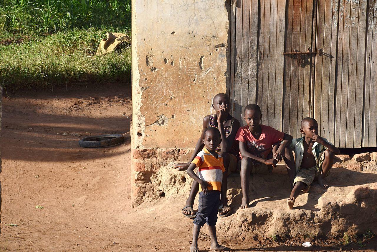 The Street Photographer - 2017 EyeEm Awards Child Boys People Outdoors Day Real People Togetherness Teamwork Friendship Childhood Uganda 2017