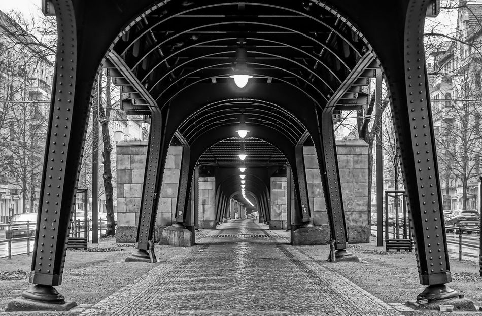 Arch Architectural Column Architecture Architecture Architecture_bw Architecture_collection B&w Berlin Photography Berliner Ansichten Black And White Built Structure City Life Day Indoors  No People Prenzlauer Berg Prenzlauerberg Urban Exploration Viaduct Viadukt Krull&Krull Images