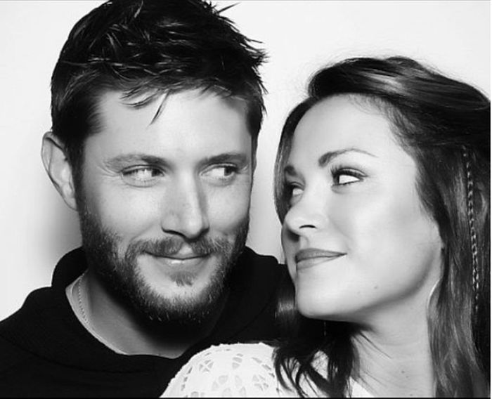 im in love with this hot couple ♥ Hot Guy Jensen Ackles In Love With Him Really Hate His Lucky Wife