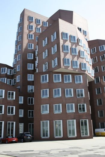 Architecture Building Exterior Düsseldorf Hafen Foto Art Gehry Buildings Glas Modern Place To Be
