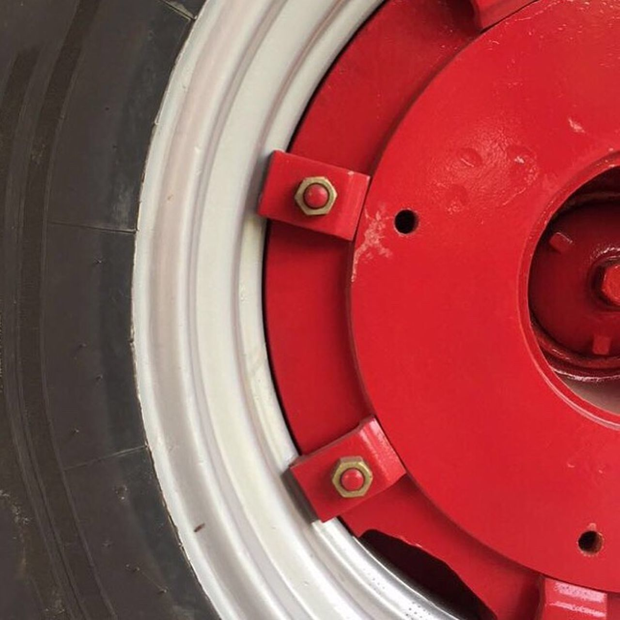 One of the most important inventions...🚜 Wheel Tractor Tractor Wheel Rubber Metal Red Black Screw Nut Circular Circle Metallic Hole Eye4photography  Eyem Eyemphotography Agriculture Agricultural Machinery Agricultural Equipment Eyeemphoto Eyeem Market