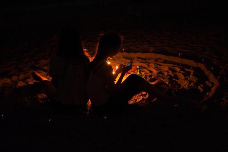 Beach Mid-autumn festival