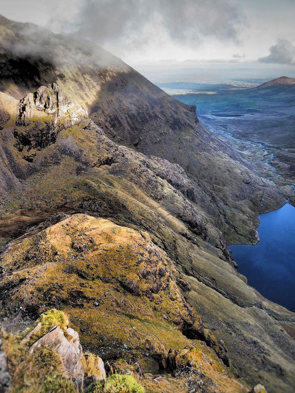 Eagle's Nest Macgillycuddy's Reeks Ireland Nature Cloud - Sky Outdoors Beauty In Nature Mountain Range Landscape The Hag's Tooth Hag's Glen Lough Gouragh Glen Hiking Photography Landscapes Lake Lough Miles Away