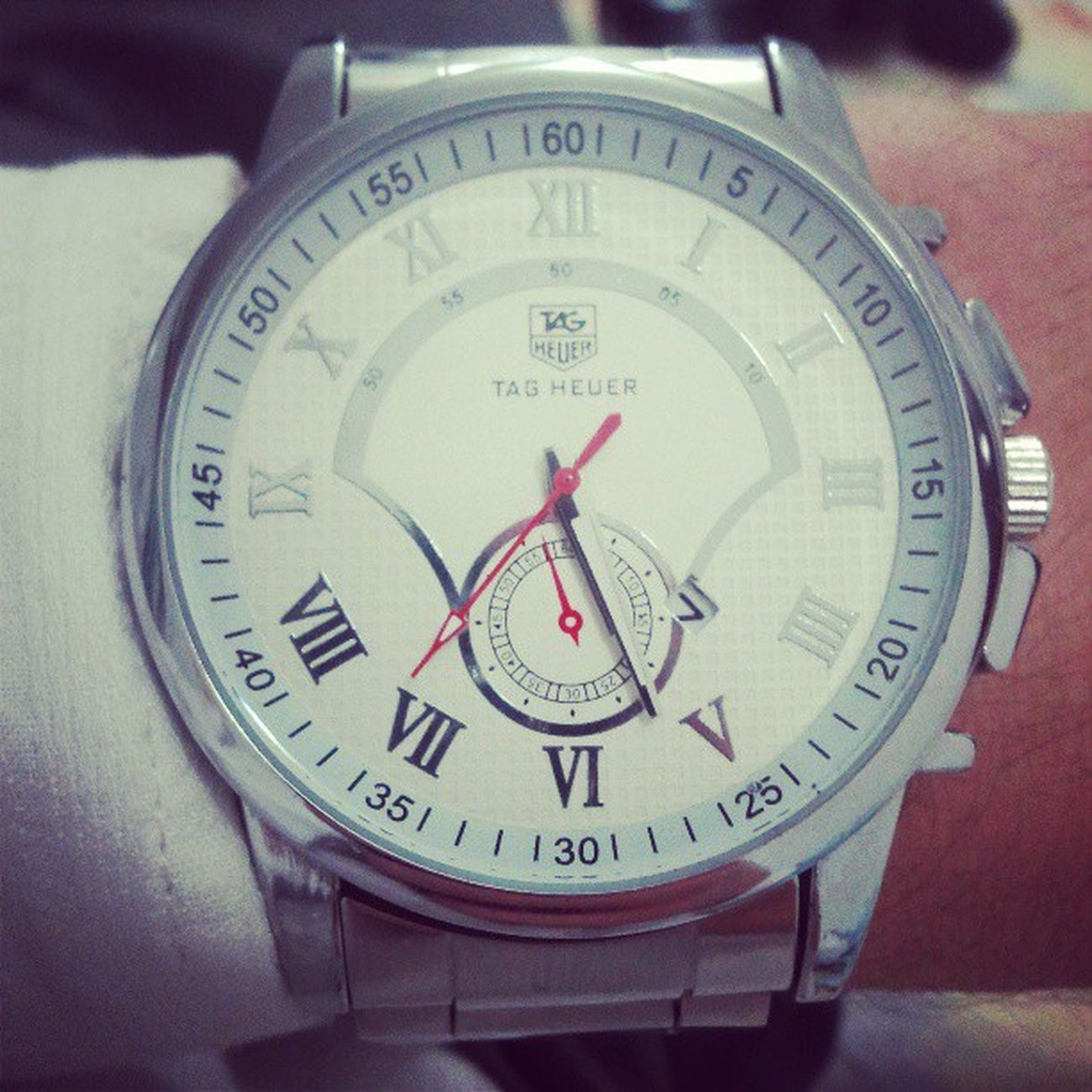 My New Whatc Th tagheuer tag heuer relogio horas coleçao likeforlike l4l followme