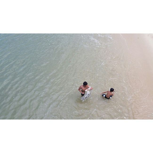Kerachut Beach is a lovely stretch of white sandy beach located in the Penang National Park on the west coast of thecape at the northwest of Penang Island.Penanglang Penang Beach Malaysia Travelling Travelgram Natureporn Childplay Water Nationalgeographic Cb_travellogs