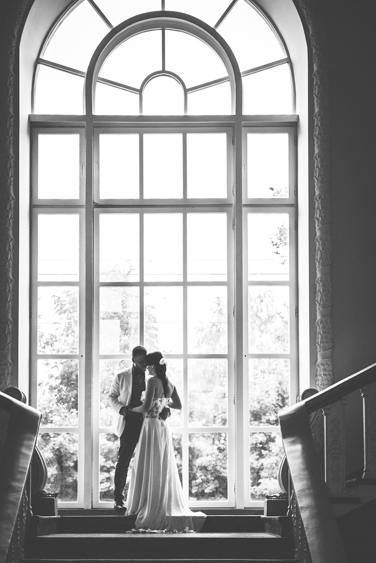 Wedding Wedding Photography Bride Groom Bride And Groom Blackandwhite Black And White Black And White Photography Blackandwhite Photography Wedding Day Wedding Photos Love Big Window
