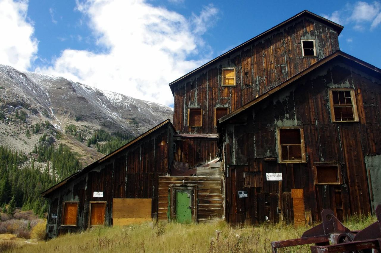 Abandoned Built Structure Mining Heritage Ghosttowns Colorado Colorado Photography Mining History Of America