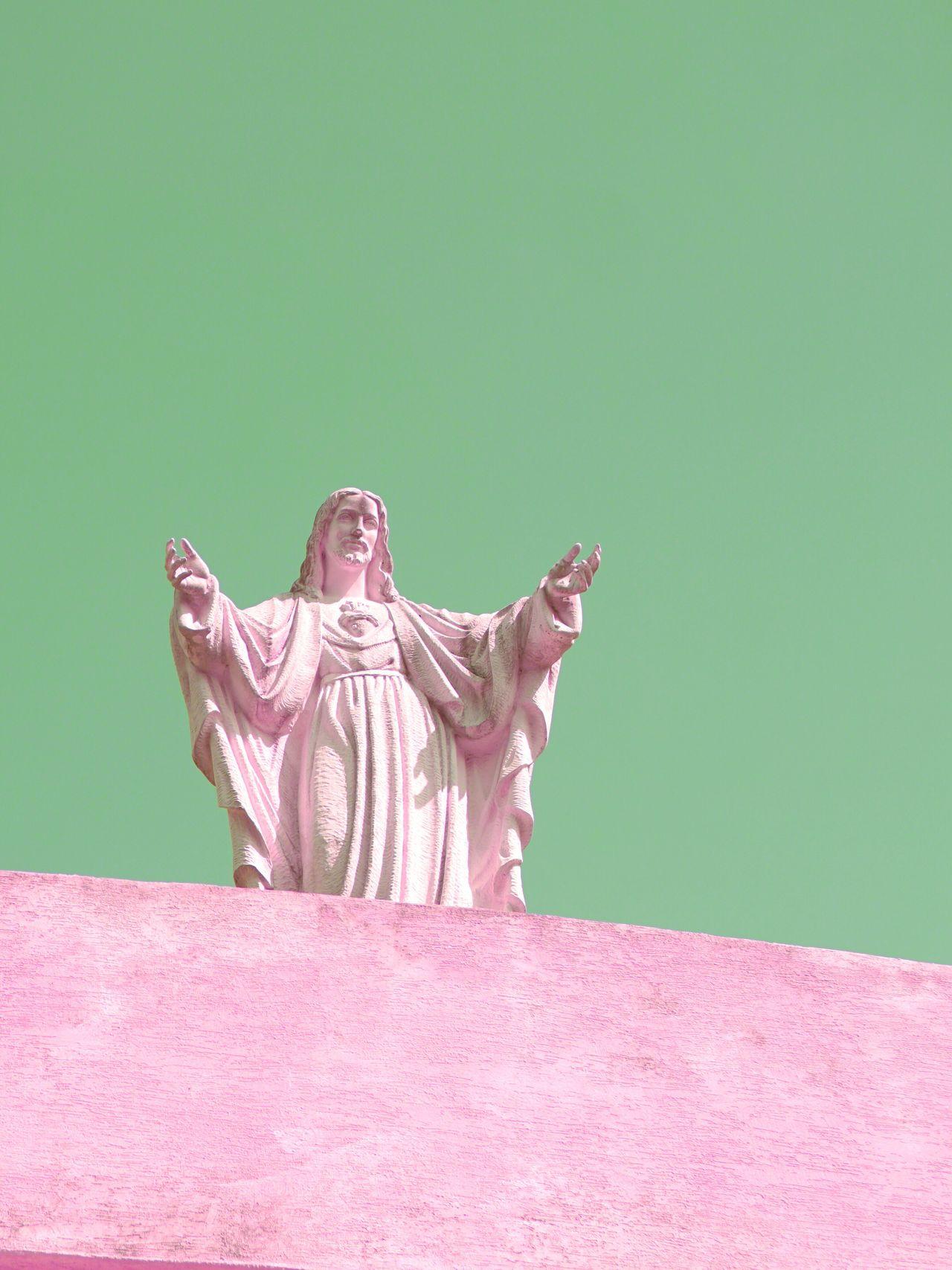 Statue JEJU ISLAND Korea Colors colorful close-up colour of life cold temperature wallpaper