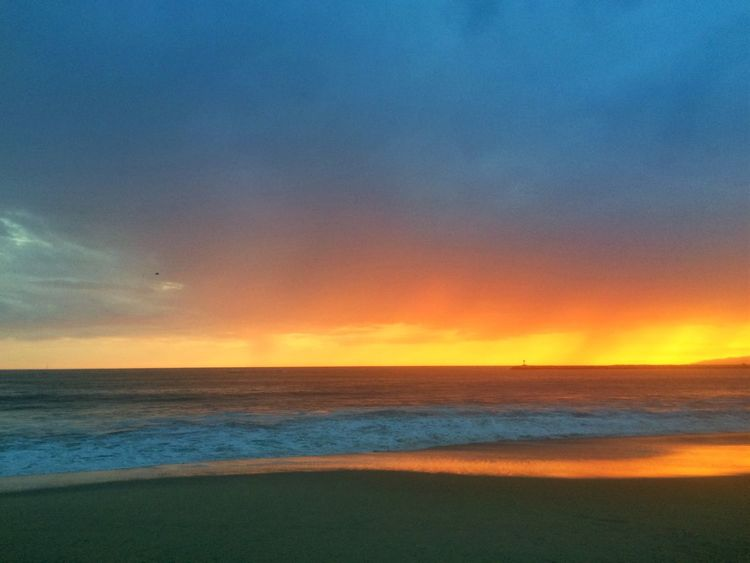 Playa Del Rey beach Beach Sunset Los Angeles, California First Eyeem Photo