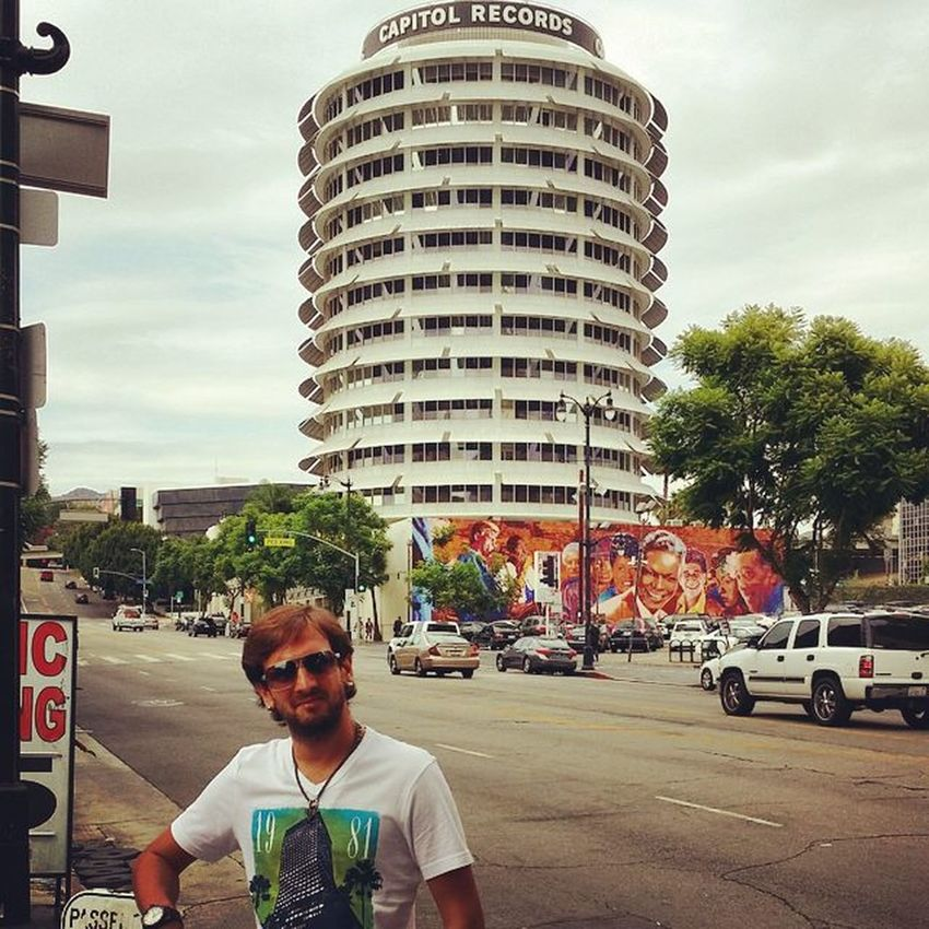 Been there last year, goin' there next year :) Losangeles California USA Hollywood throwbackthursday tbt capitolrecords 2014