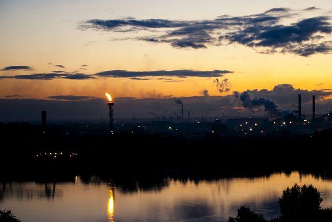 River Sky Clouds Sunset Horizon EyeEm Best Edits EyeEm Best Shots Reflection Silhouette I Love My City
