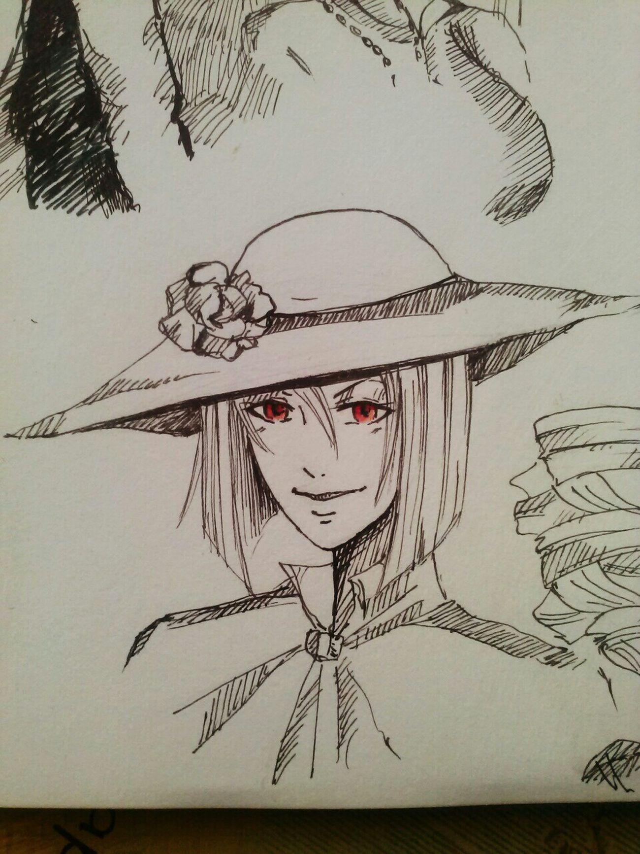 Kuroshitsuji  Sallon Art Madam Red Love Drawing ❤ Picture ArtWork Animelover Anime Drawing