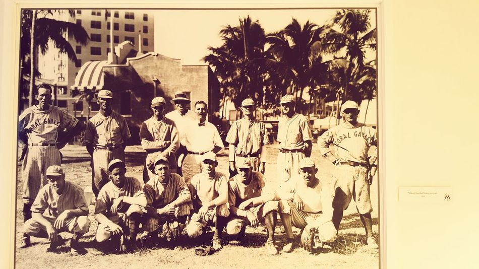 Marlins first team at The Biltmore Hotel Baseball Hotel