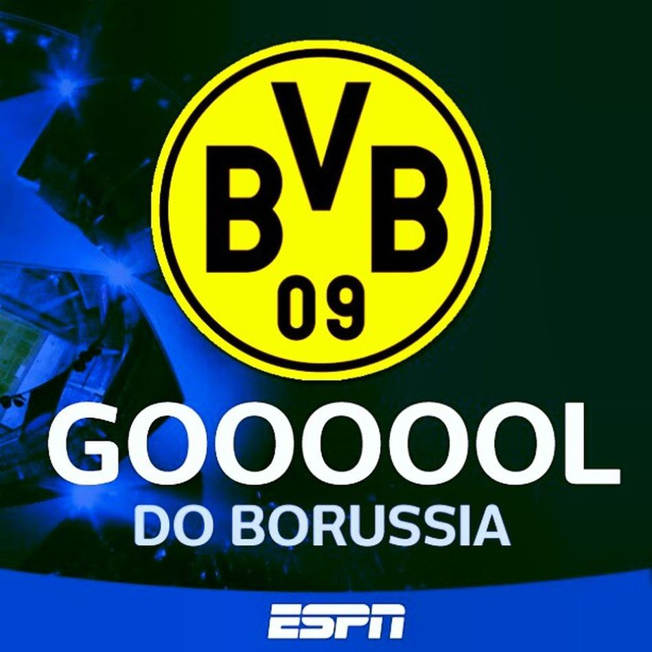 Championsligue ESPNBRASIL Borussia Sports germany day BvB day peoples yellow Lewandowski futebol art soccer