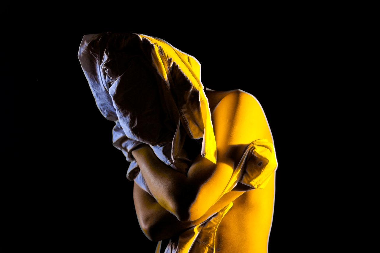 Rot Banana Man Art Art Is Everywhere Banana Black Background Close-up Day EyeEm EyeEm Best Shots EyeEm Diversity Fresh Fruit Human Hand Lightroom Lost Men Midsection Model One Person People Portrait Resist Rot Studio Shot Yellow Yellow Color