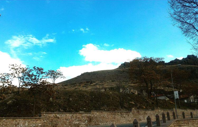 Konya Konya Turkey Sille Konya Sille Sky Sky And Clouds Blue Blue Sky