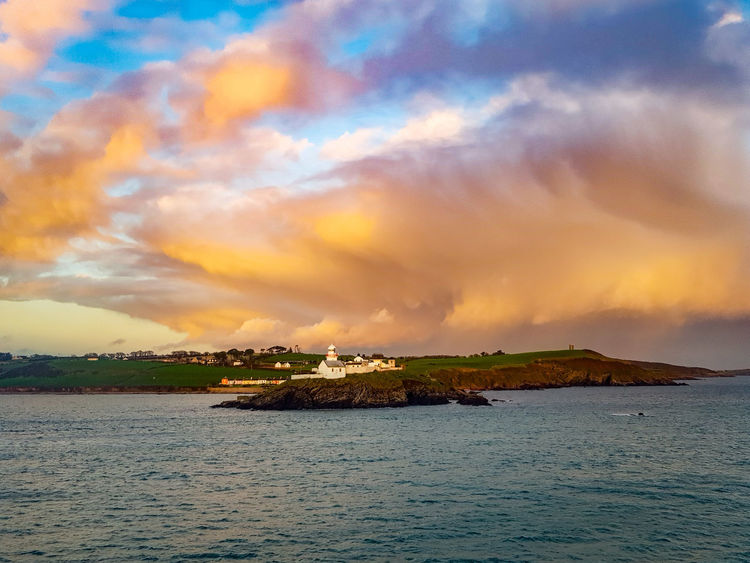 Travel Destinations Tranquility Cloud - Sky Sea Water Nature Outdoors Beauty Scenics Dramatic Sky Sky ILoveMyJob Brittanyferries Beauty In Nature Steward Crew EyeEm Best Shots Clouds And Sky Greatview Irland Irlande Mer Ship Ferries Atsea