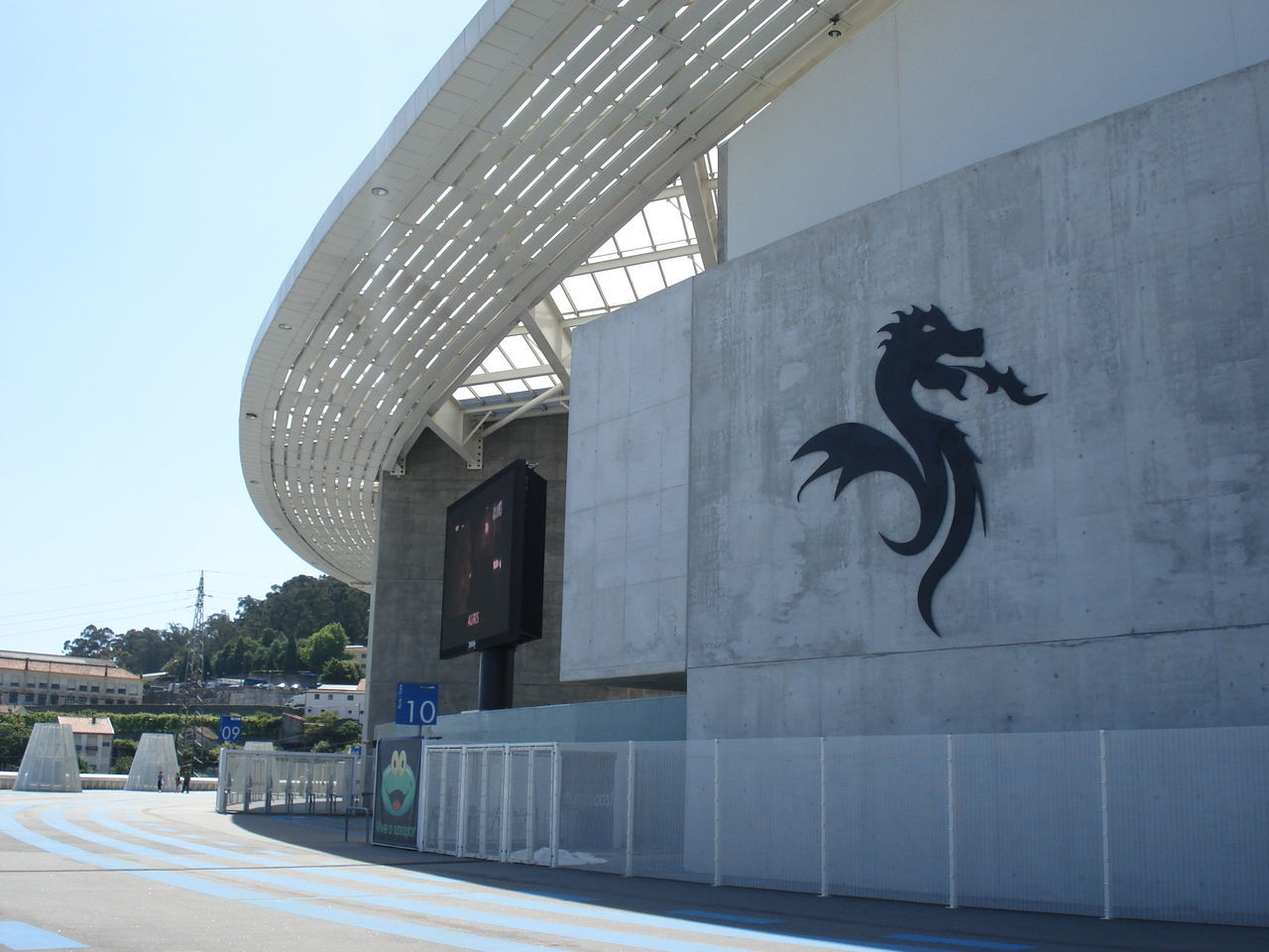 Architecture Building Building Exterior City Dragao Estadio Fc Porto Football Stadium Modern